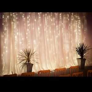 Other - 1800 LED Soft yellow light curtain